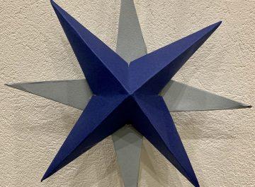 Självgjorda pappersstjärnor att pynta med featured image